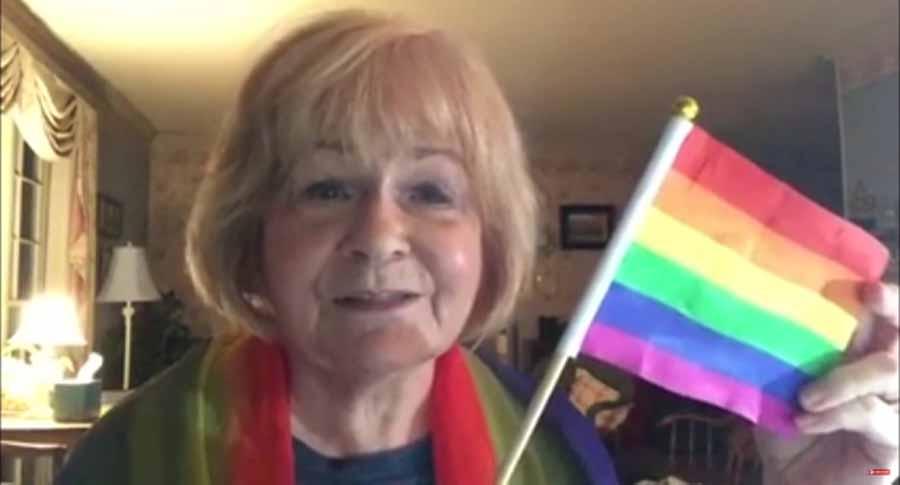 Sherri Gray, la sorprendente abuela cristiana que escribe la letra del himno a la bandera LGBT
