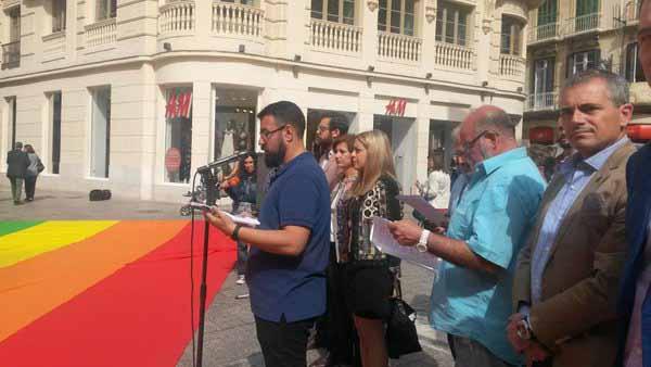 Acto Málaga Homofobia 2016 3