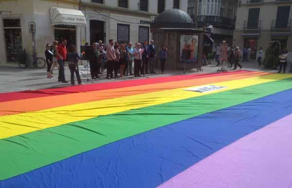Acto Málaga homofobia 2016 2