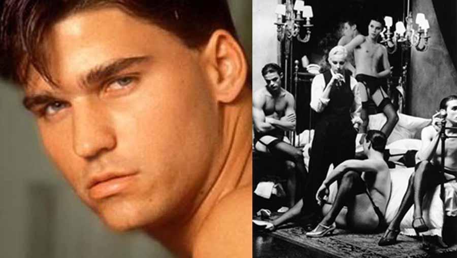 """Habrá un biopic de la vida del actor porno gay que Madonna lanzó a la fama en su libro """"Sex"""""""