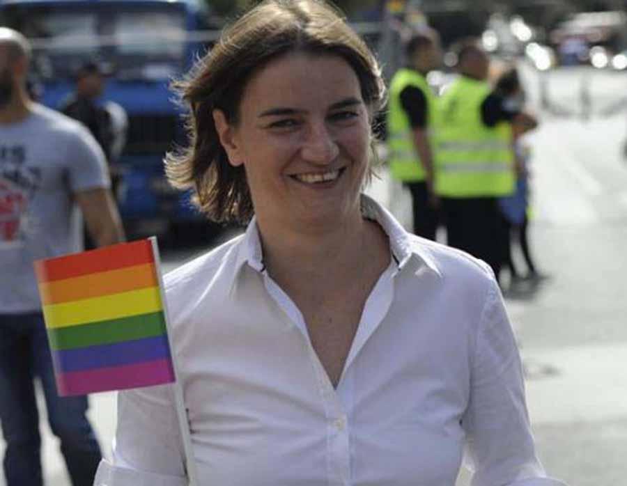 Ana Brnabić, la primera ministro europea abiertamente lesbiana