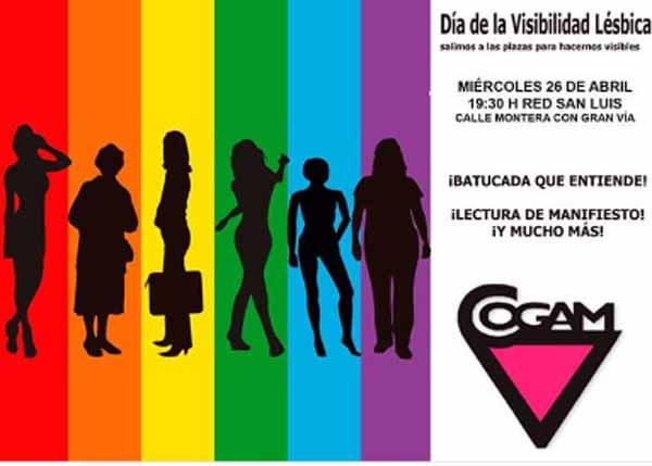 COGAM Visibilidad Lésbica 2017