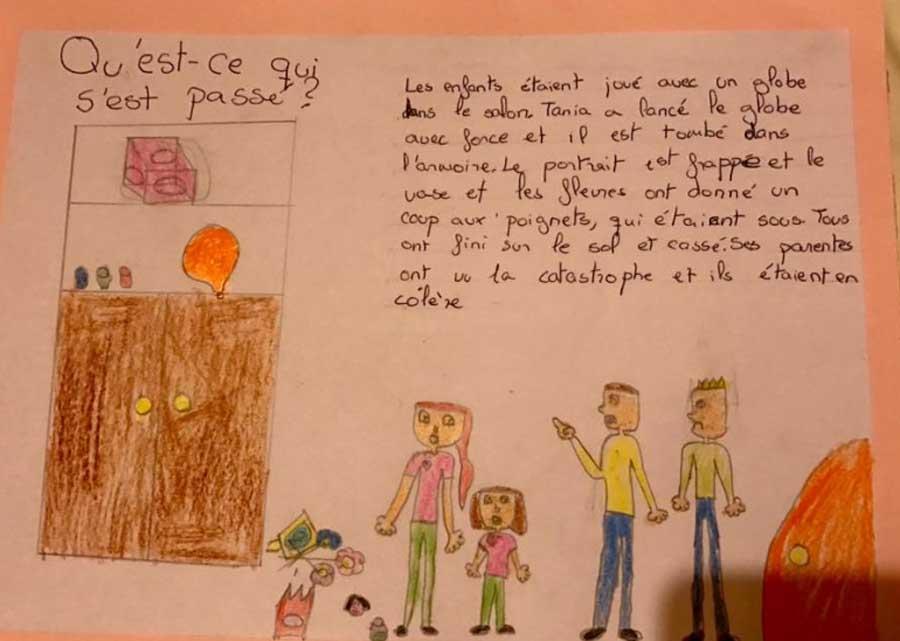 Una niña de 10 años de Málaga nos da toda una lección de diversidad familiar
