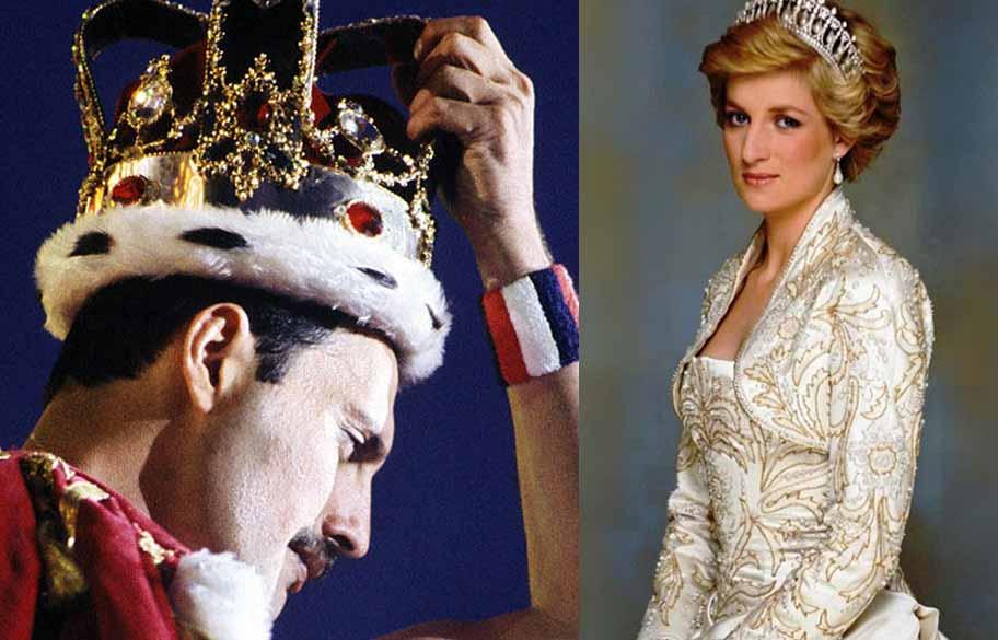 La noche que Freddie Mercury disfrazó a Lady Di de hombre para ir de marcha a un bar de ambiente