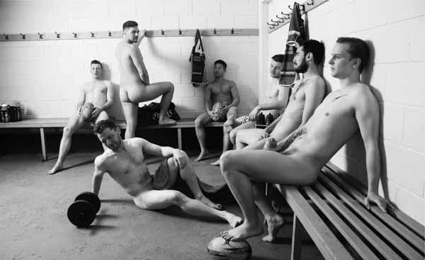 Jugadores de rugby gays contra el cáncer testicular 2018 4