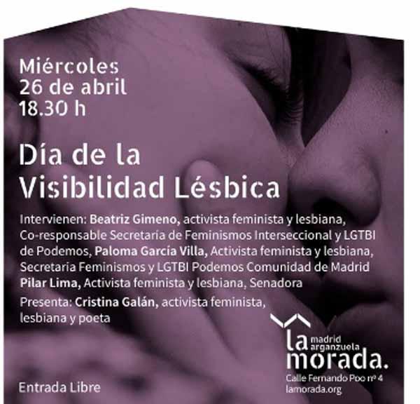 La Morada Visibilidad Lésbica 2017