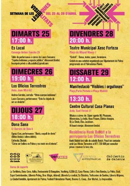Las Palmas Visibilidad Lésbica 2017