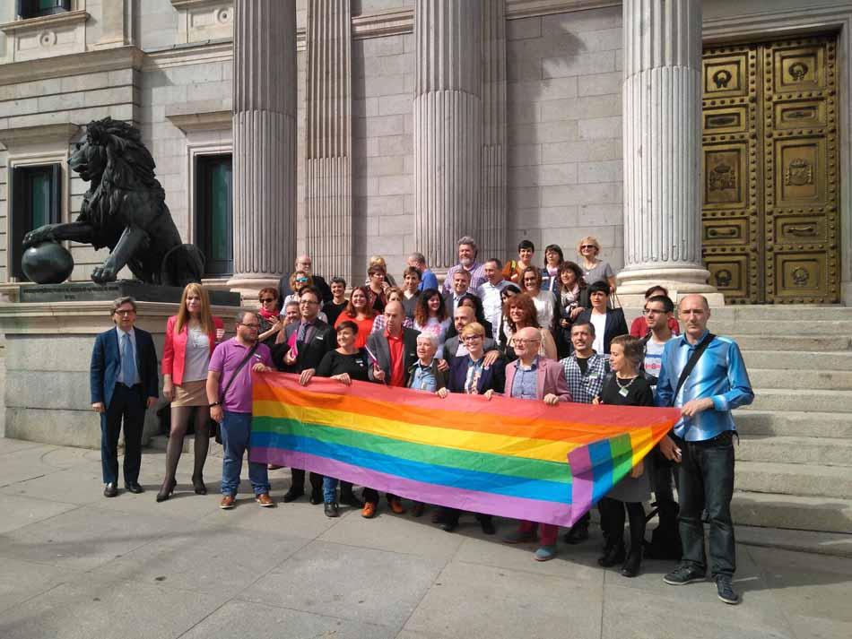 La Ley de Igualdad LGTBI continúa su trámite parlamentario