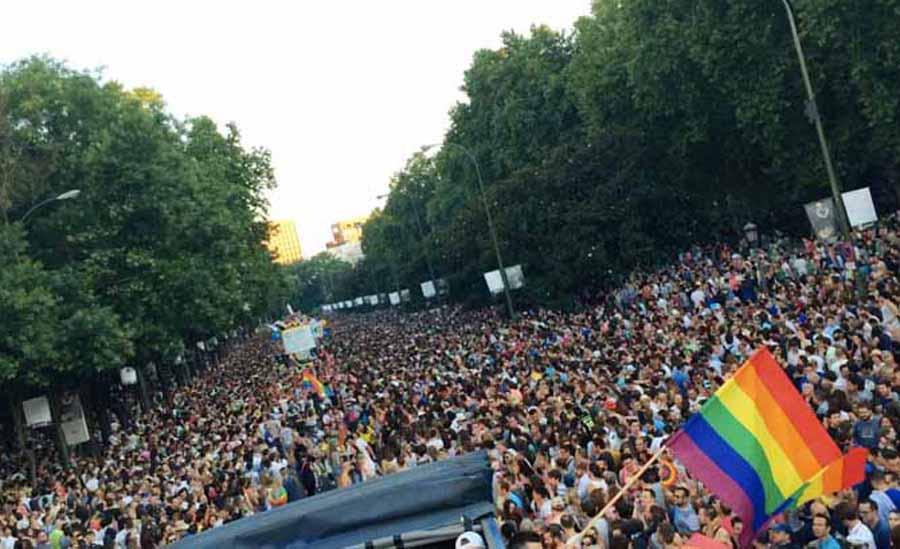 Manifestación del World Pride: Respaldo absoluto de partidos políticos, sindicatos y organizaciones sociales