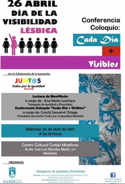 Marbella Visibilidad Lésbica 2017