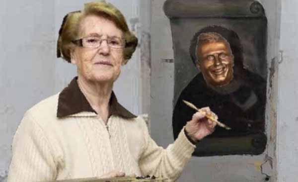 Meme de la estatua de Cristiano Ronaldo 8