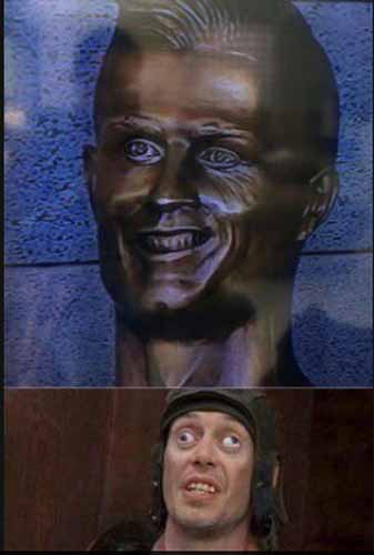 Meme de la estatua de Cristiano Ronaldo