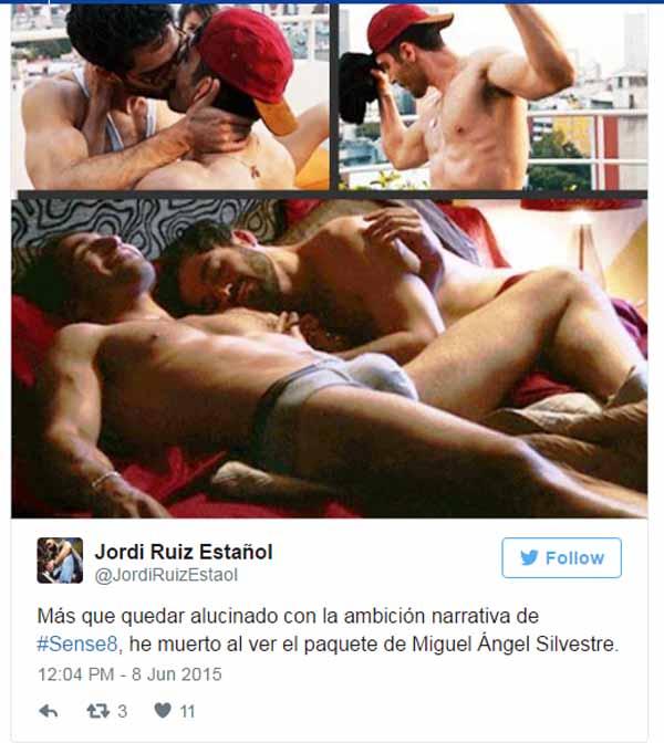 Miguel Ángel Silvestre en Sense8