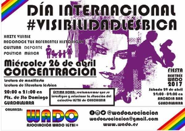 Mujeres Guadalajara Visibilidad Lésbica 2017