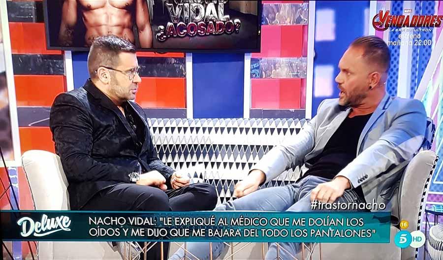 Nacho Vidal denuncia que un médico le manoseó el pene cuando acudió por un problema de otitis