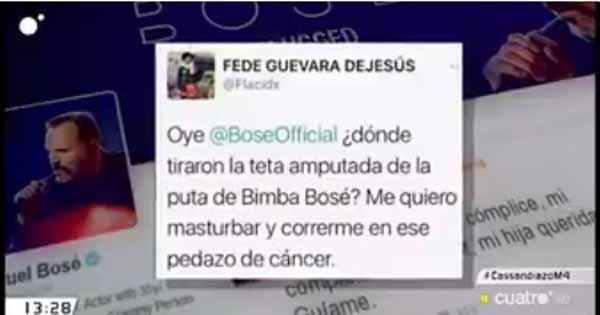 Ofensas a Bimba Bosé
