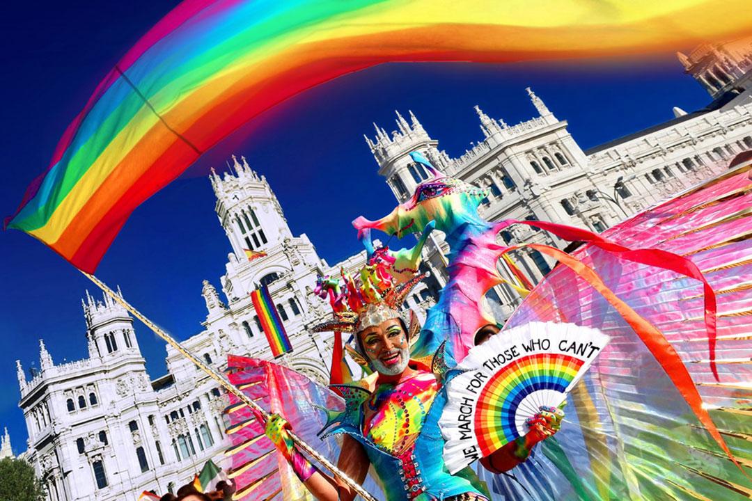 El Orgullo Gay de Madrid se convierte en una pelota de juego