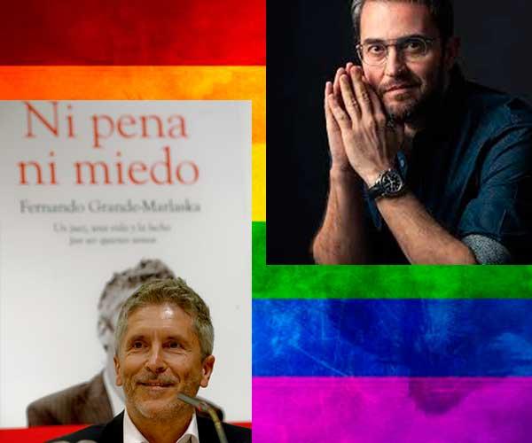 """""""Orgullosos"""" por la designación de dos ministros abiertamente gays en el reciente Gobierno de España de Pedro Sánchez."""
