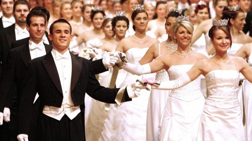La primera pareja del mismo sexo que bailará en la Ópera de Viena.