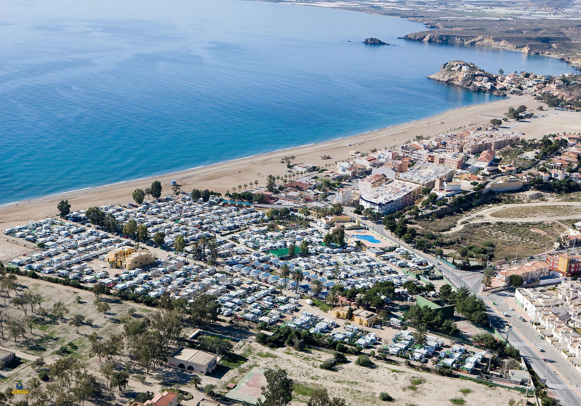 Camping Playa de Mazarron, vacaciones de ensueño en un entorno natural único