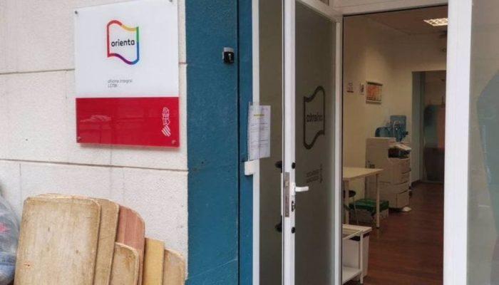 29/03/2021 Ataque a la sede de Lambda en València POLITICA COMUNIDAD VALENCIANA ESPAÑA EUROPA VALENCIA SOCIEDAD LAMBDA