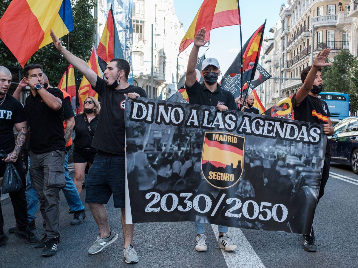 """""""Fuera maricas de nuestros barrios"""", la marcha neonazi de Chueca será llevada a la Fiscalía"""